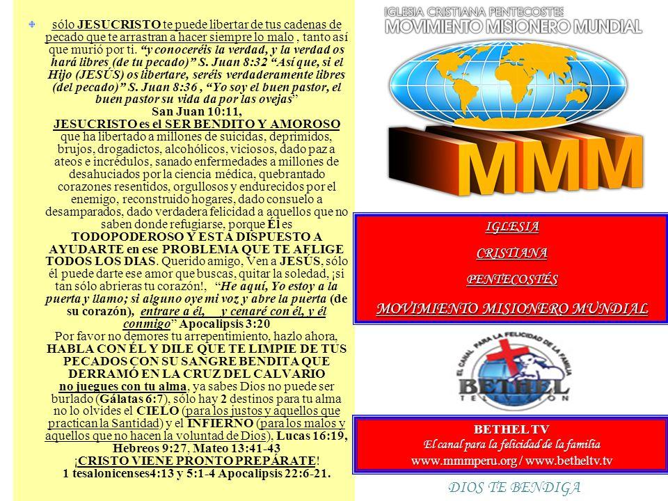 MOVIMIENTO MISIONERO MUNDIAL