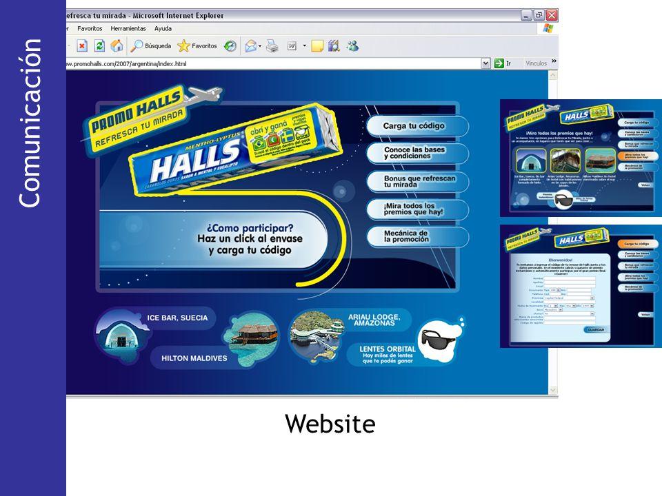 Comunicación (Via Pública) Comunicación Website