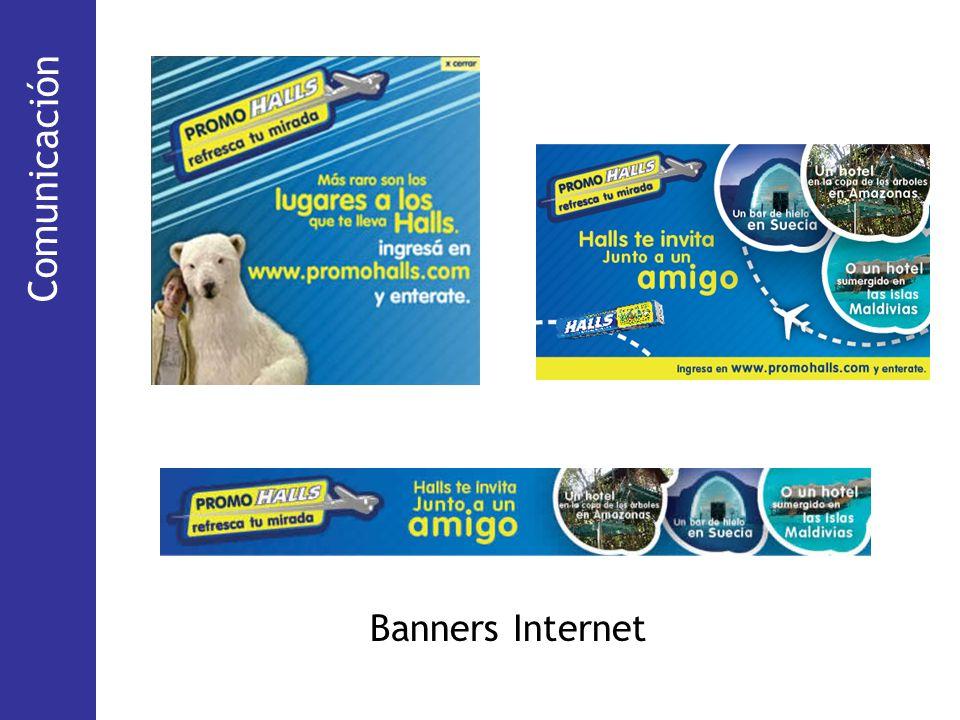 Comunicación (Via Pública) Comunicación Banners Internet