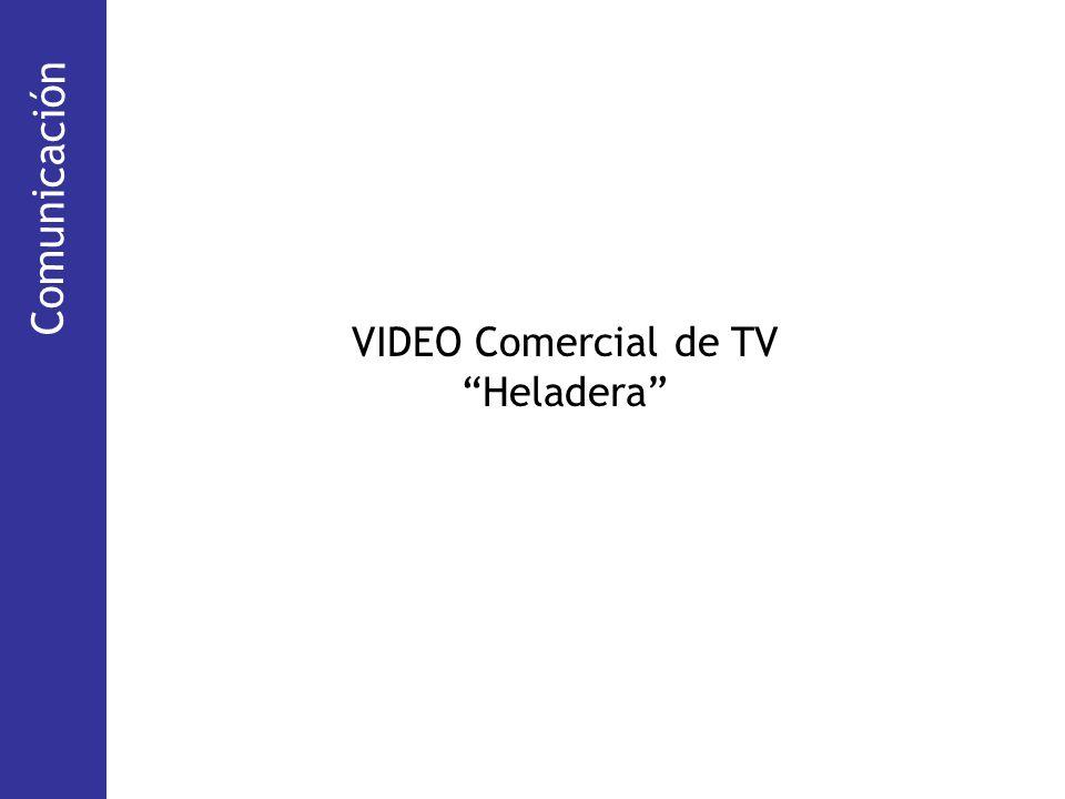 Comunicación Comunicación VIDEO Comercial de TV Heladera