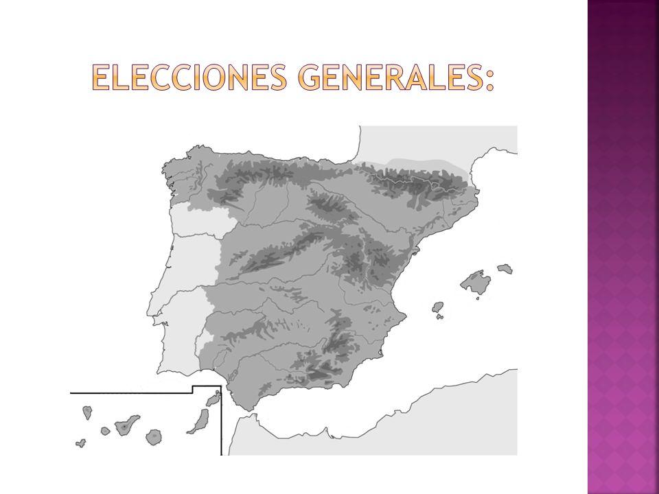 Elecciones generales: