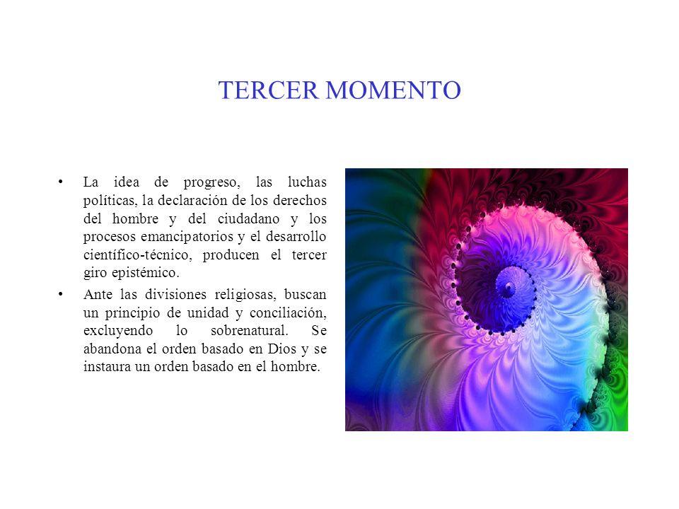 TERCER MOMENTO