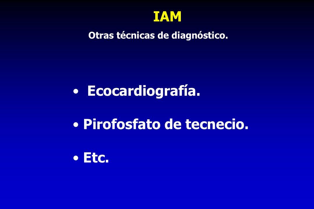 Otras técnicas de diagnóstico.