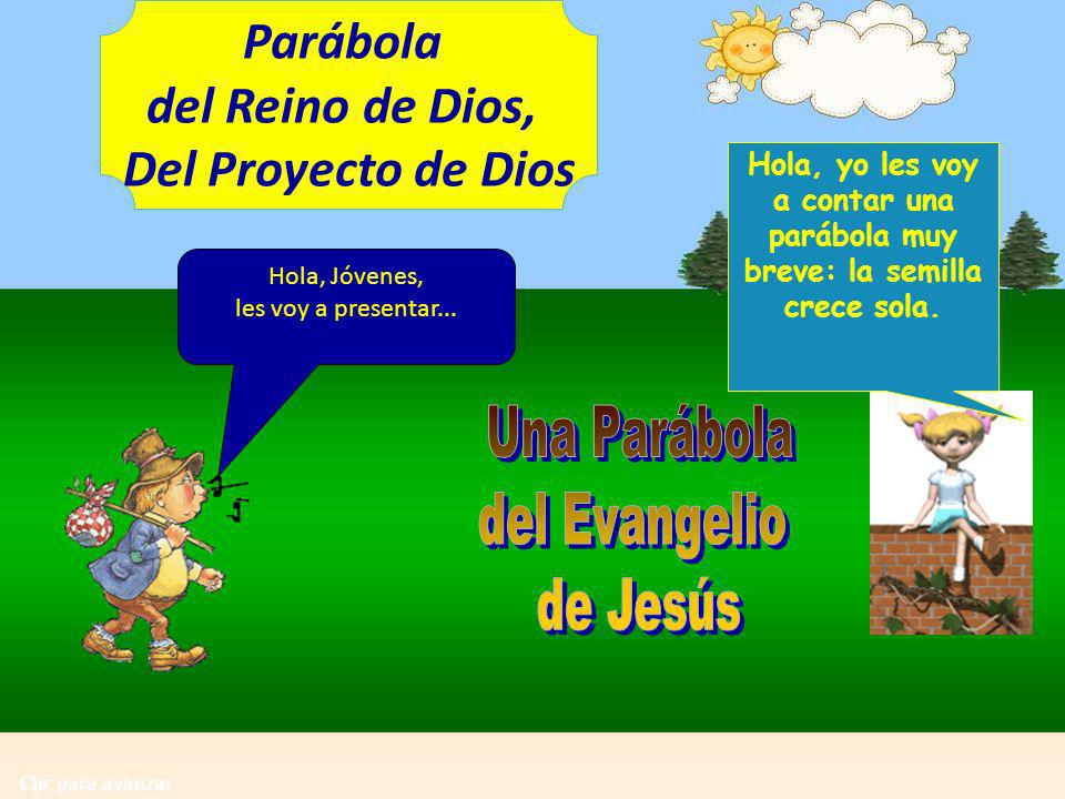 Parábola del Reino de Dios, Del Proyecto de Dios