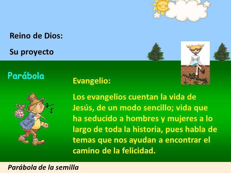 Reino de Dios: Su proyecto Parábola Evangelio: