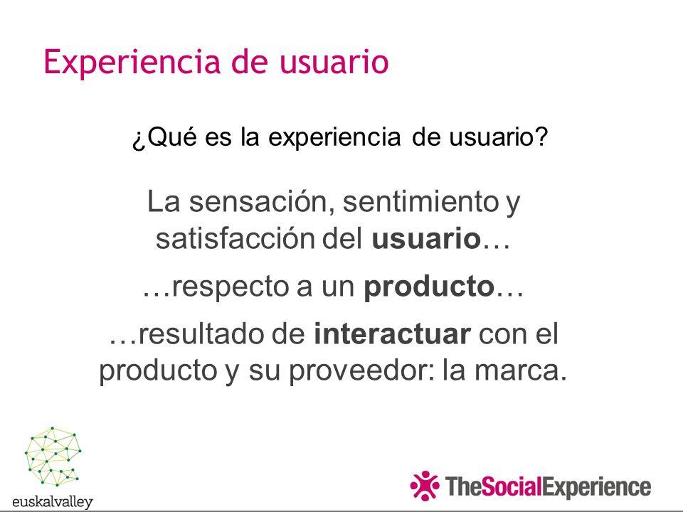 ¿Qué es la experiencia de usuario