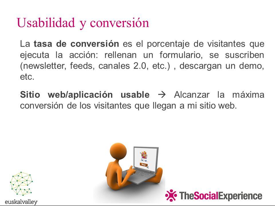 Usabilidad y conversión