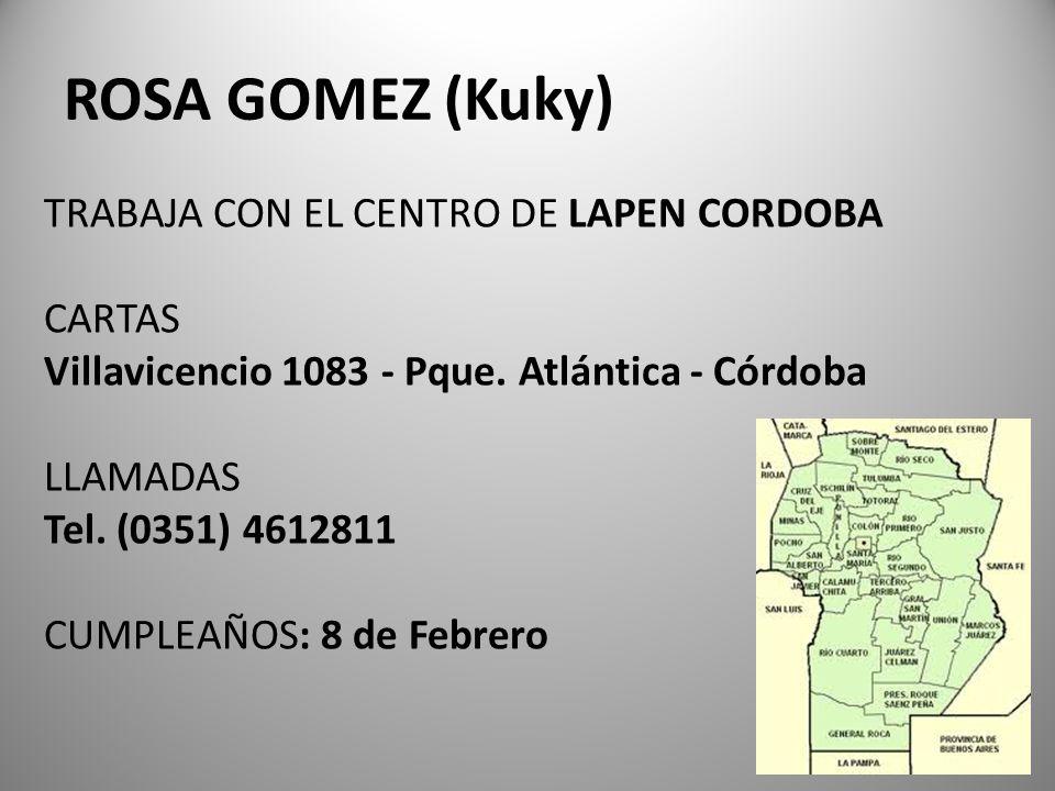 ROSA GOMEZ (Kuky)
