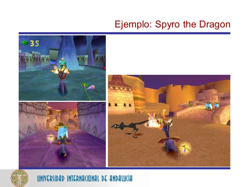 Ejemplo: Spyro the Dragon