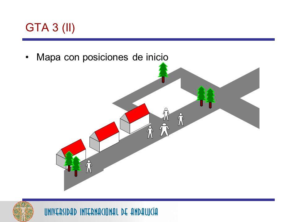 GTA 3 (II) Mapa con posiciones de inicio