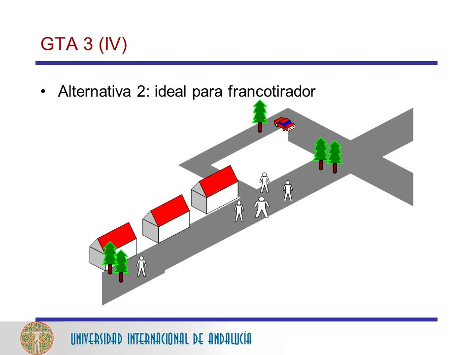 GTA 3 (IV) Alternativa 2: ideal para francotirador