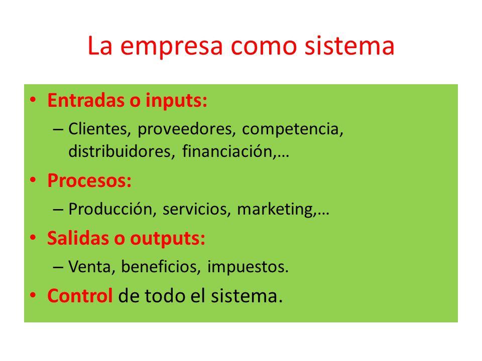 La empresa como sistema
