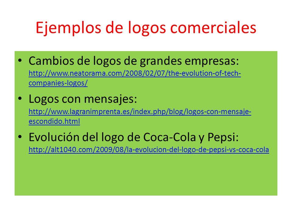 Ejemplos de logos comerciales