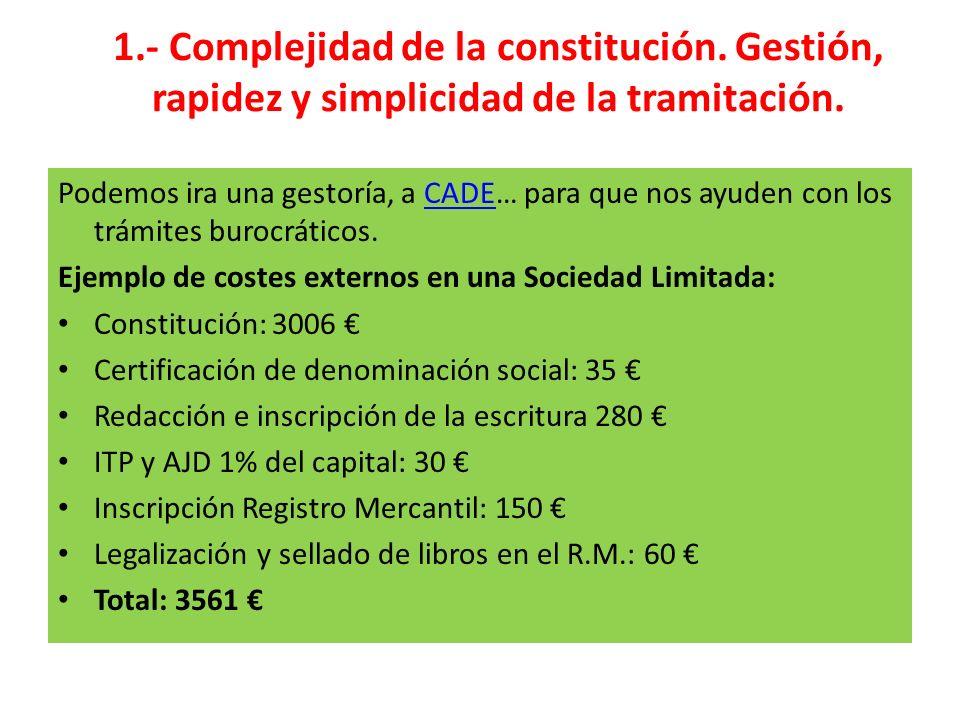 1. - Complejidad de la constitución