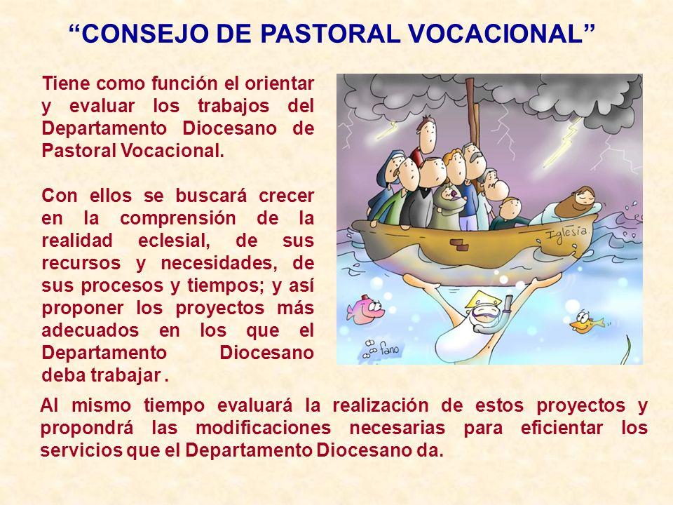 CONSEJO DE PASTORAL VOCACIONAL