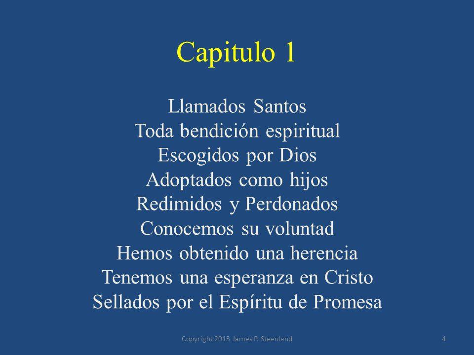 Capitulo 1 Llamados Santos Toda bendición espiritual