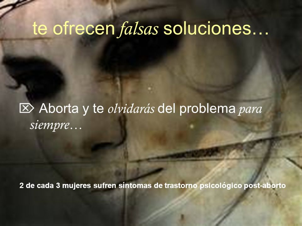 te ofrecen falsas soluciones…