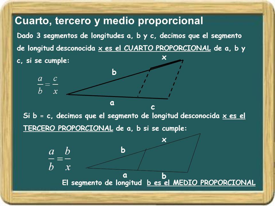 Cuarto, tercero y medio proporcional