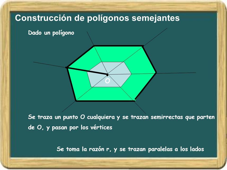 Construcción de polígonos semejantes