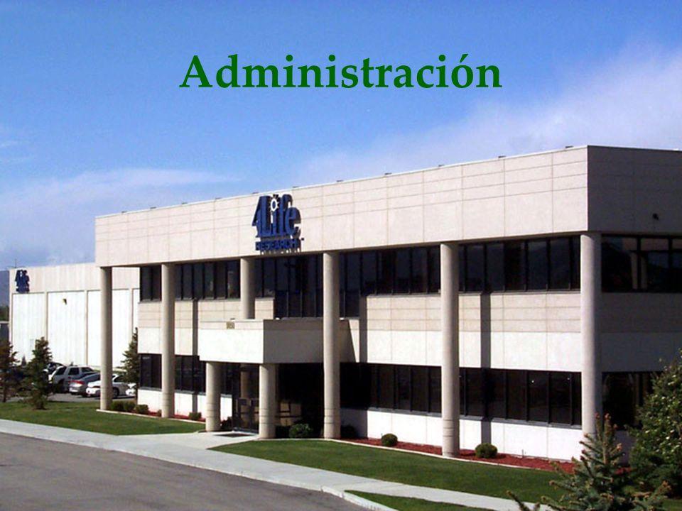 Administración Es importante resaltar la experiencia y calidad del equipo directivo.