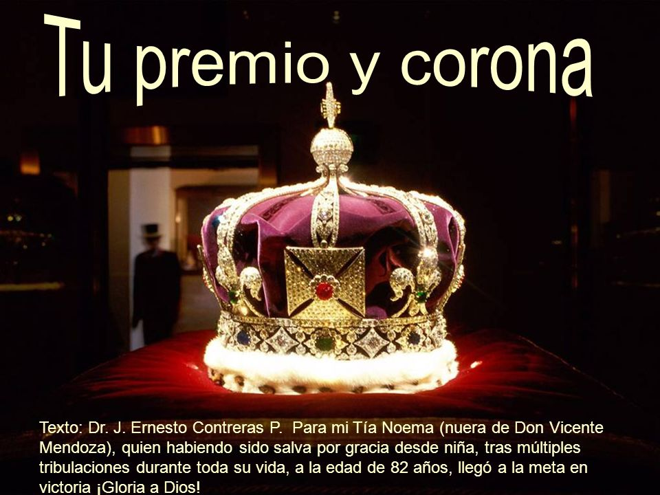 Tu premio y corona