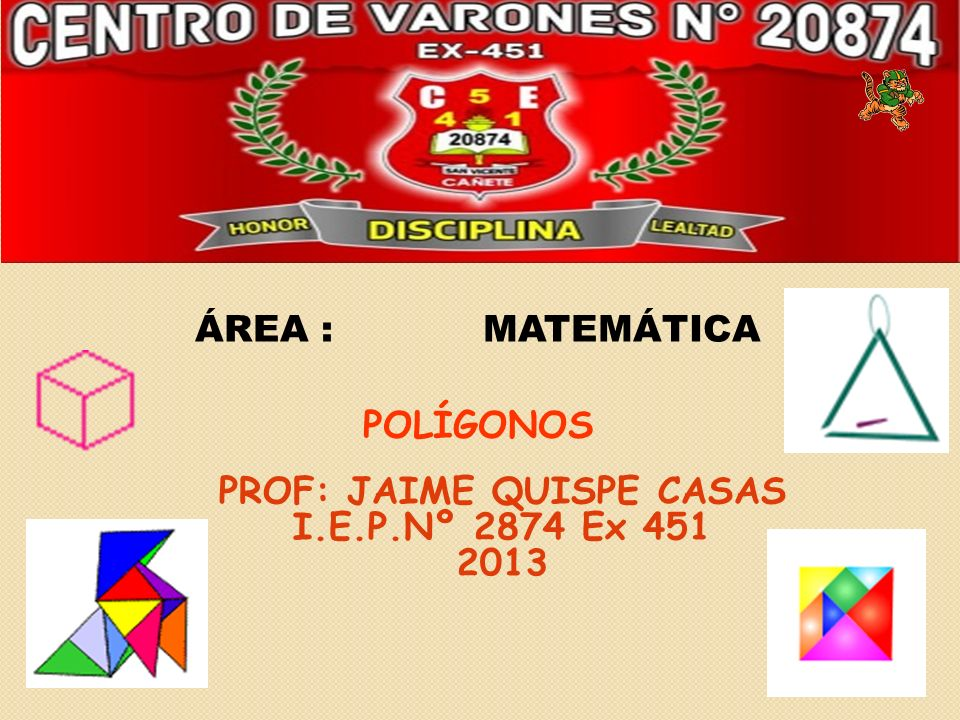 PROF: JAIME QUISPE CASAS