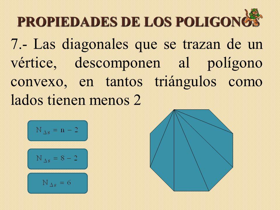 PROPIEDADES DE LOS POLIGONOS