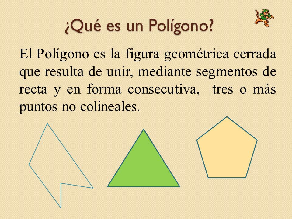 ¿Qué es un Polígono