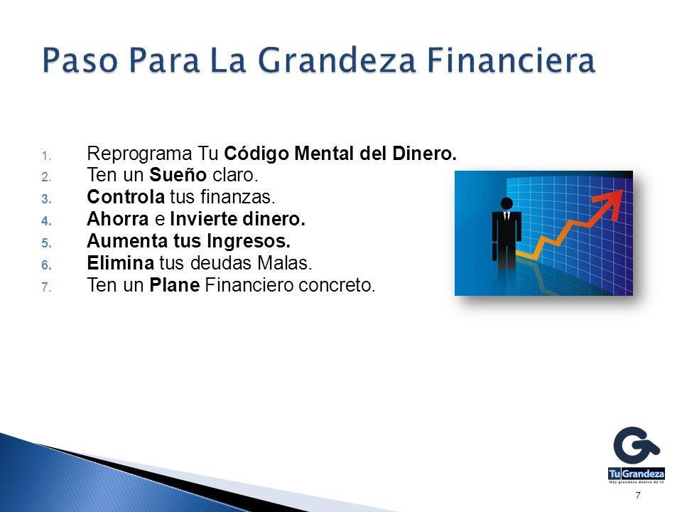 Paso Para La Grandeza Financiera