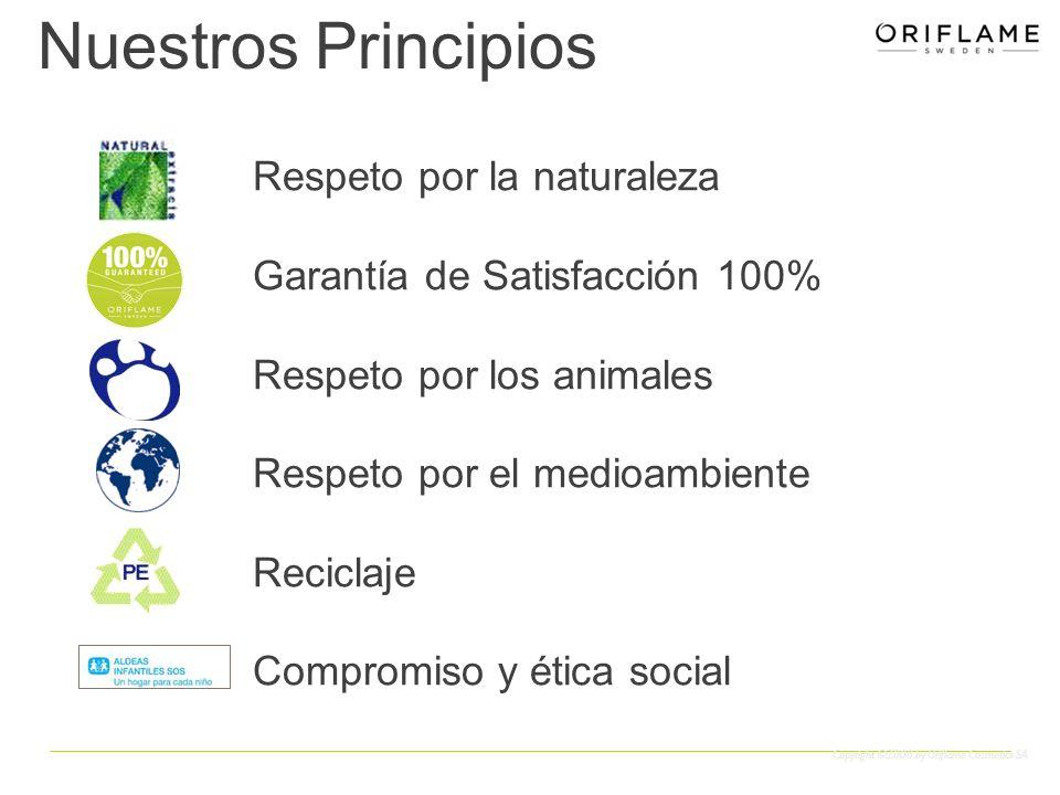Nuestros Principios Respeto por la naturaleza