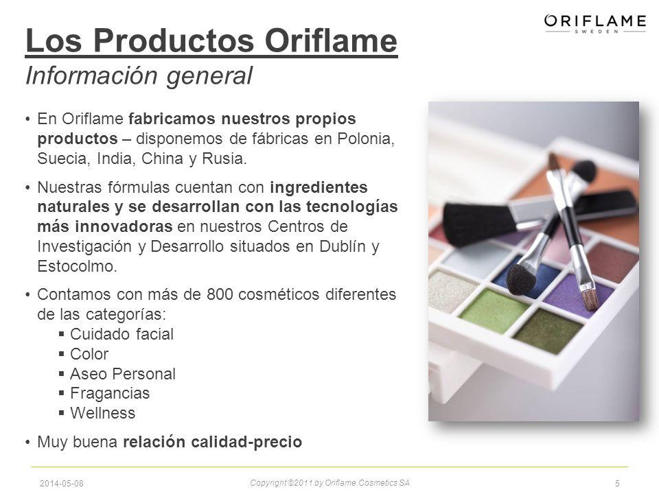Los Productos Oriflame Información general