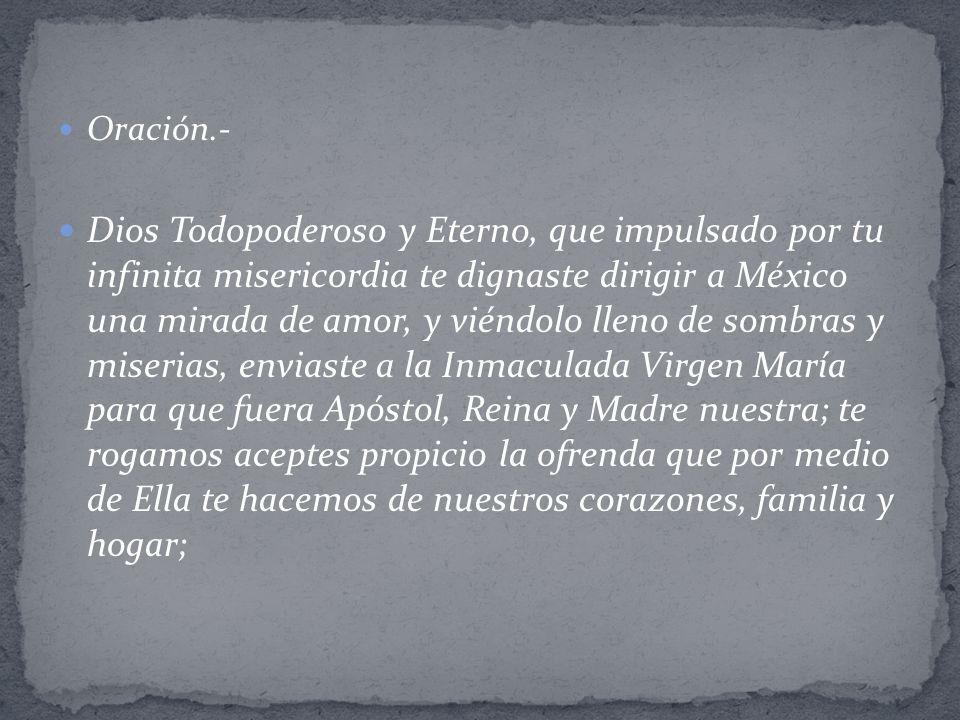 Oración.-