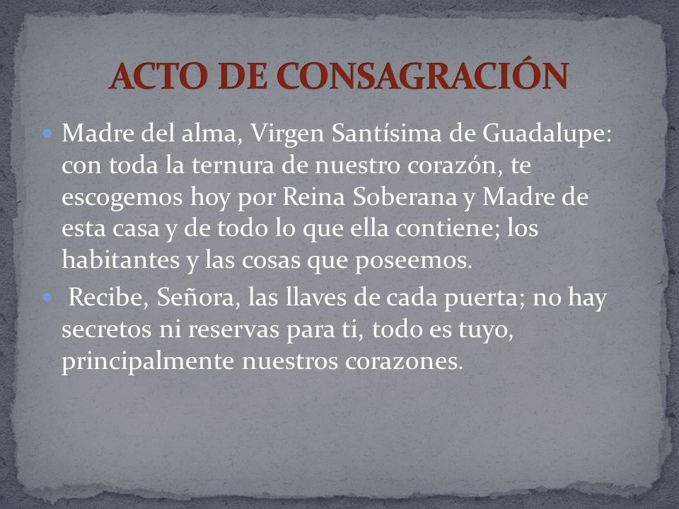 ACTO DE CONSAGRACIÓN
