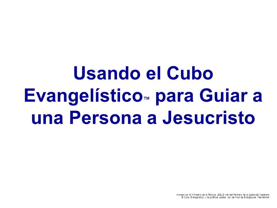 Usando el Cubo Evangelístico™ para Guiar a una Persona a Jesucristo