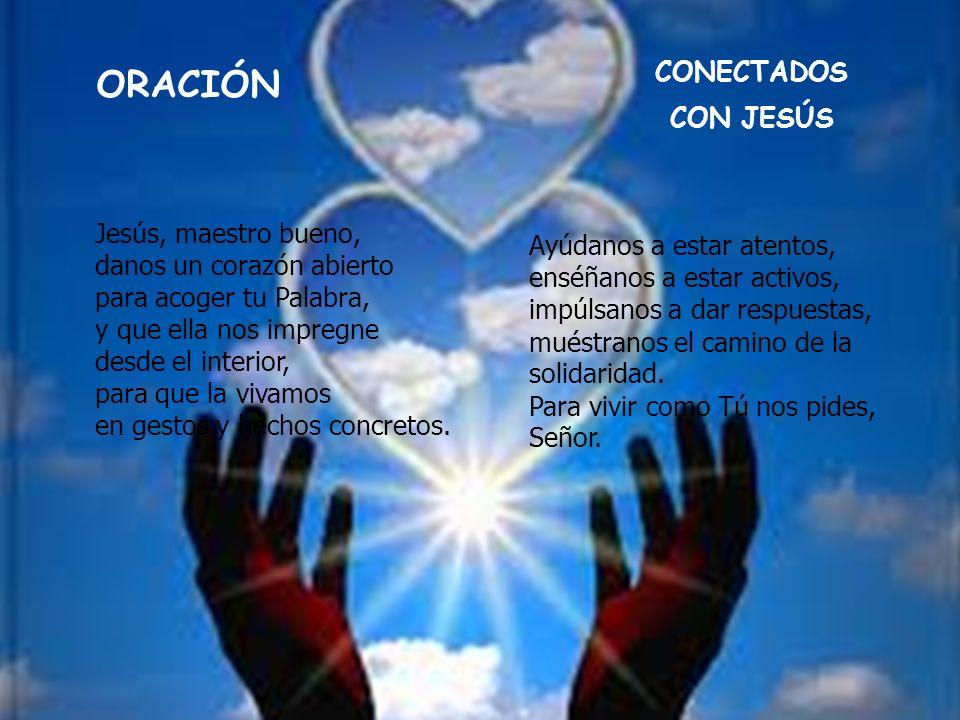 ORACIÓN CONECTADOS CON JESÚS