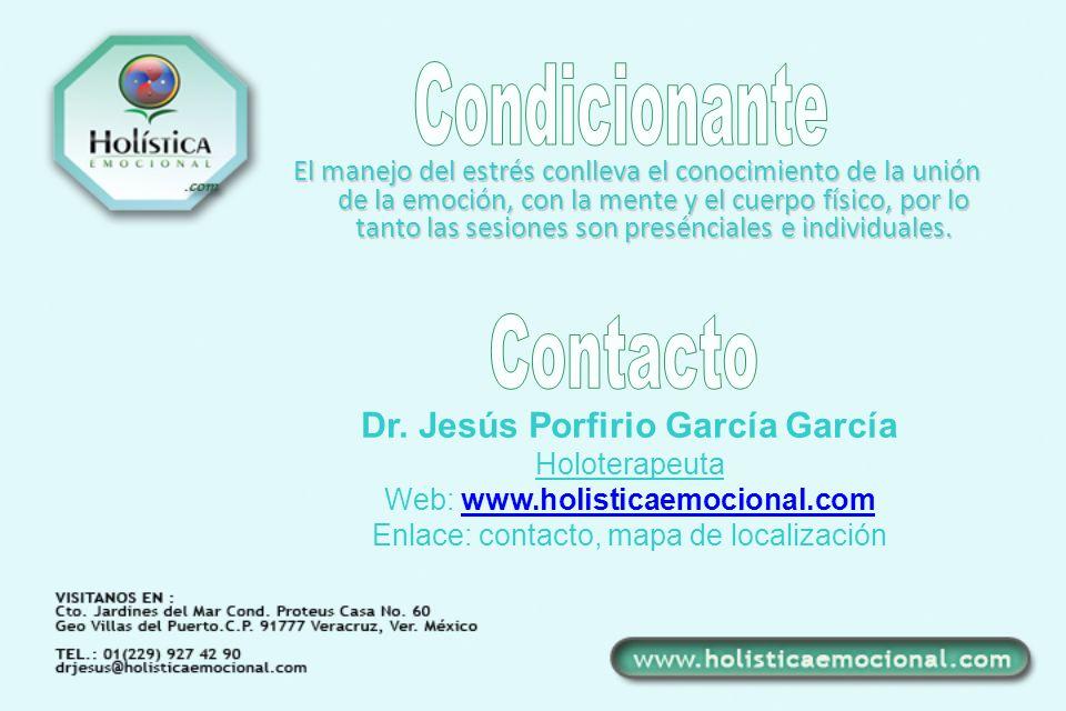 Dr. Jesús Porfirio García García