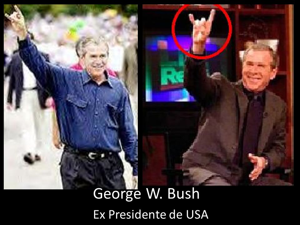 George W. Bush Ex Presidente de USA