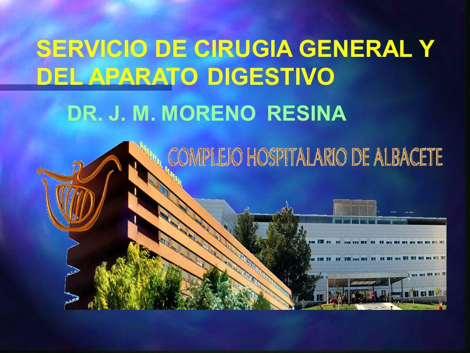 SERVICIO DE CIRUGIA GENERAL Y DEL APARATO DIGESTIVO