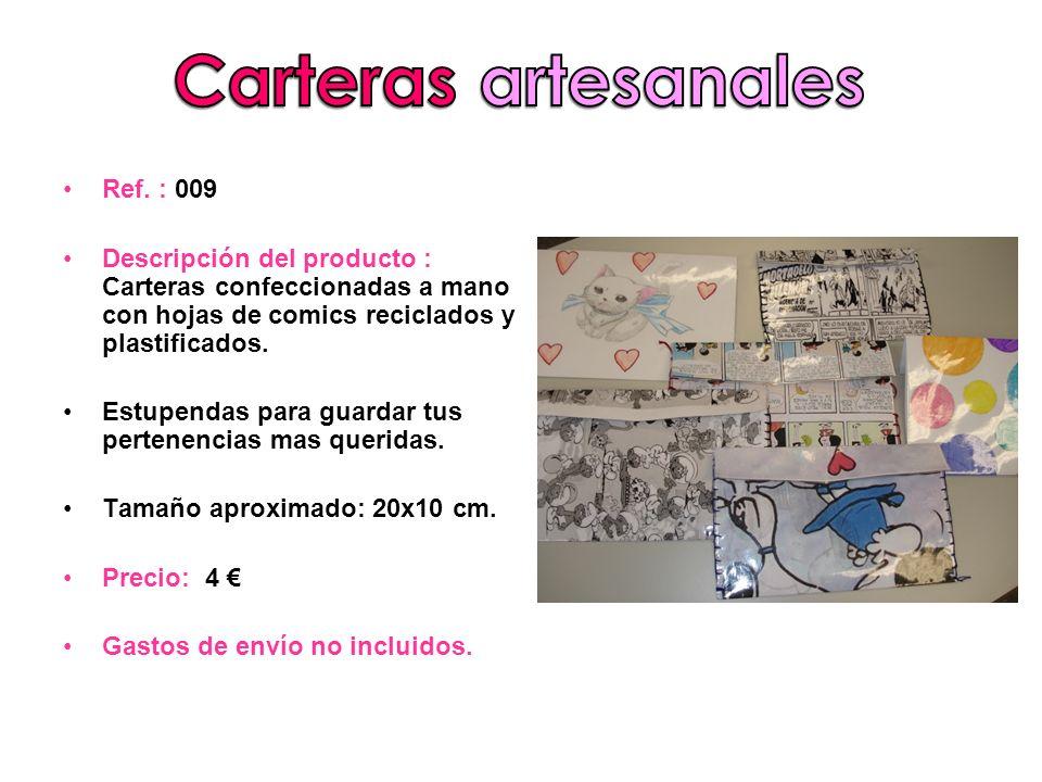 Carteras artesanales Ref. : 009