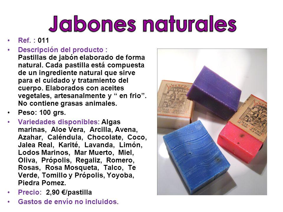 Jabones naturales Ref. : 011