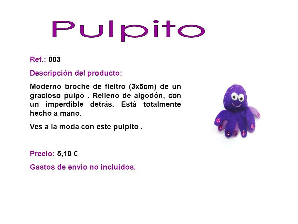 Pulpito Ref.: 003 Descripción del producto: