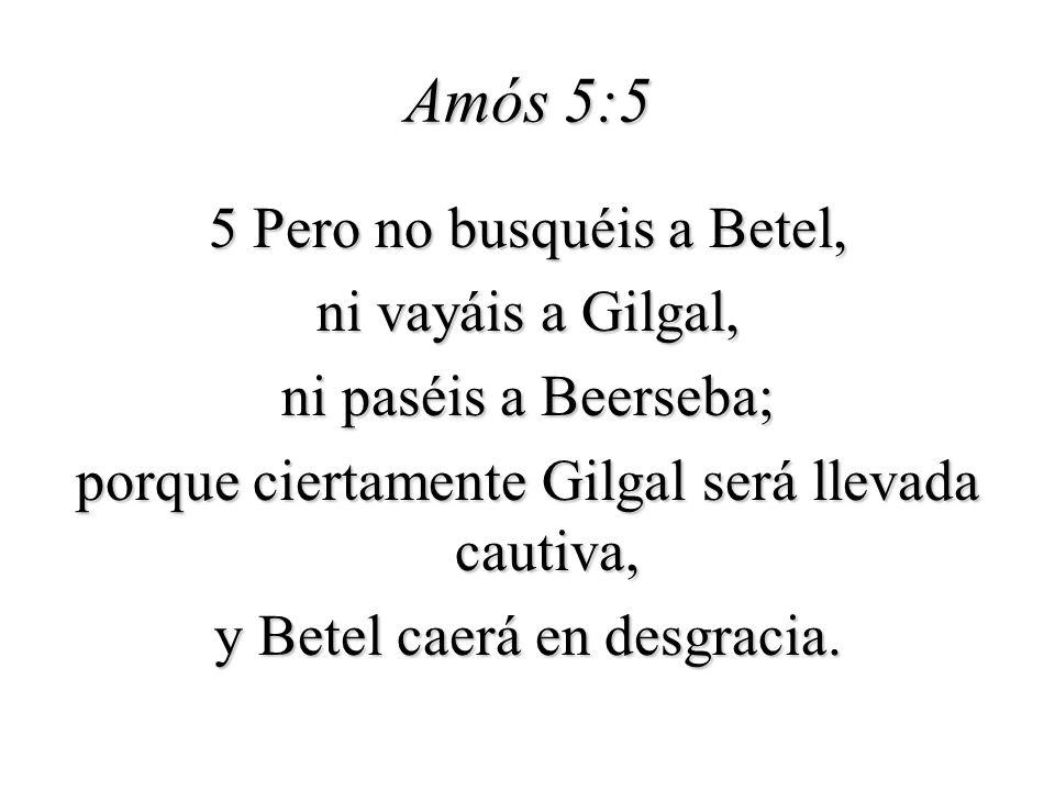 Amós 5:5