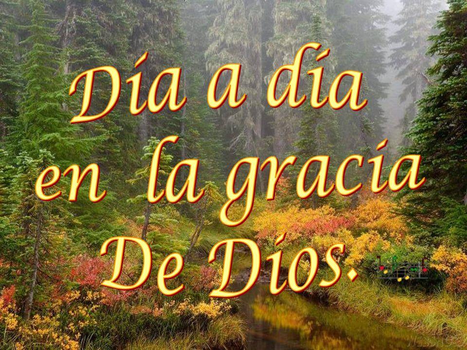 Día a día en la gracia De Dios.