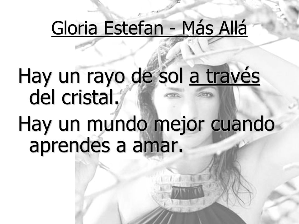 Gloria Estefan - Más Allá