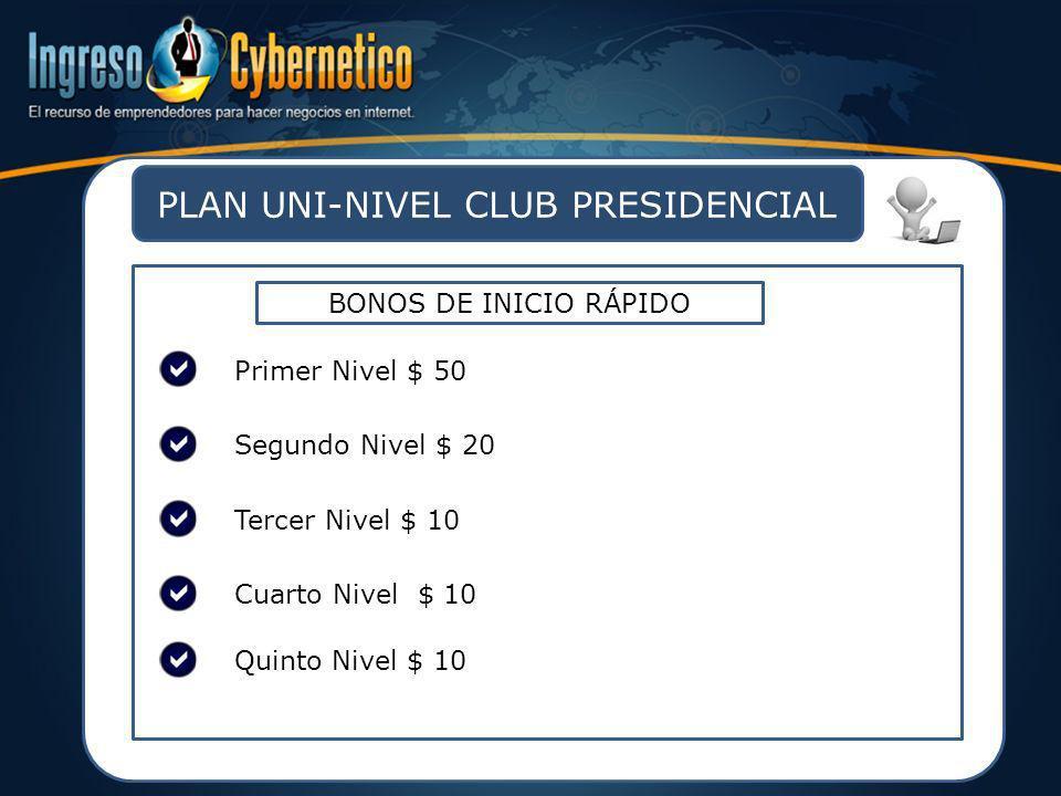 PLAN UNI-NIVEL CLUB PRESIDENCIAL