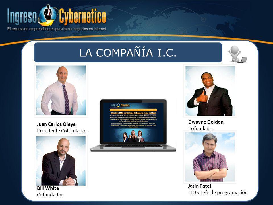 LA COMPAÑÍA I.C. Dwayne Golden Juan Carlos Olaya Cofundador