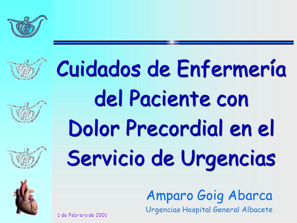 Amparo Goig Abarca Urgencias Hospital General Albacete