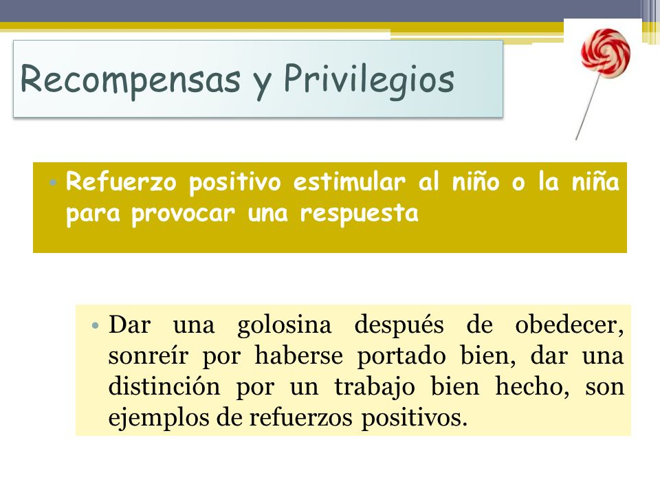 Recompensas y Privilegios