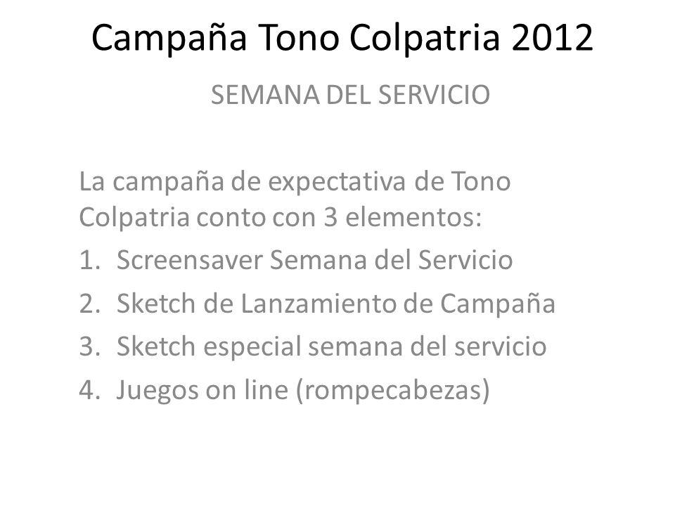 Campaña Tono Colpatria 2012