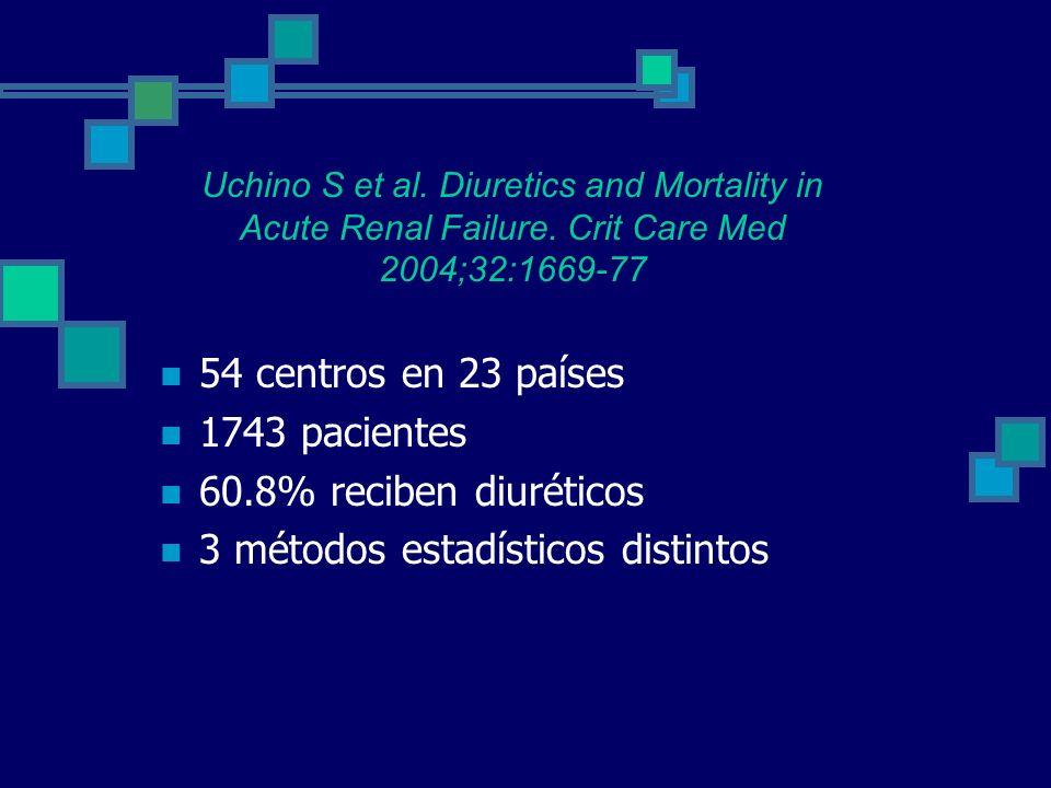 3 métodos estadísticos distintos